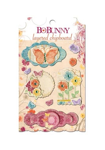 Ambrosia Layered Chipboard Bo Bunny