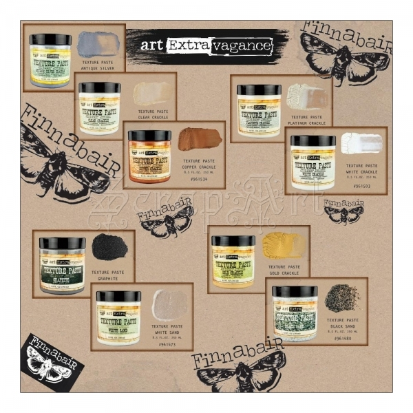Art Extravagance Texture Paste by Finnabair
