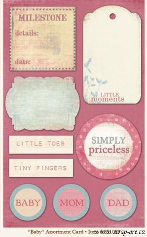 Fancy - Baby - Assortment Card - 29th Street Market