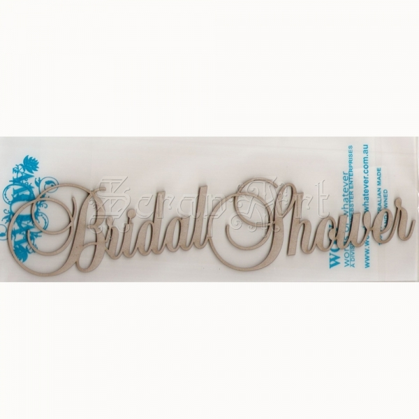 chipboard - Bridal Shower WOW1147 WOW
