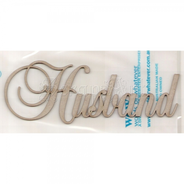 chipboard - Husband WOW1793 WOW