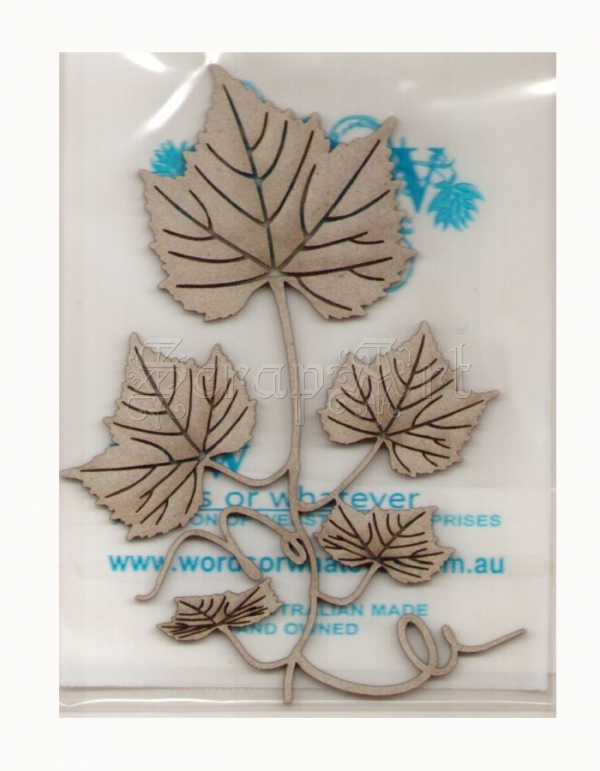 chipboard - Leafy Vine Small WOW2109 WOW