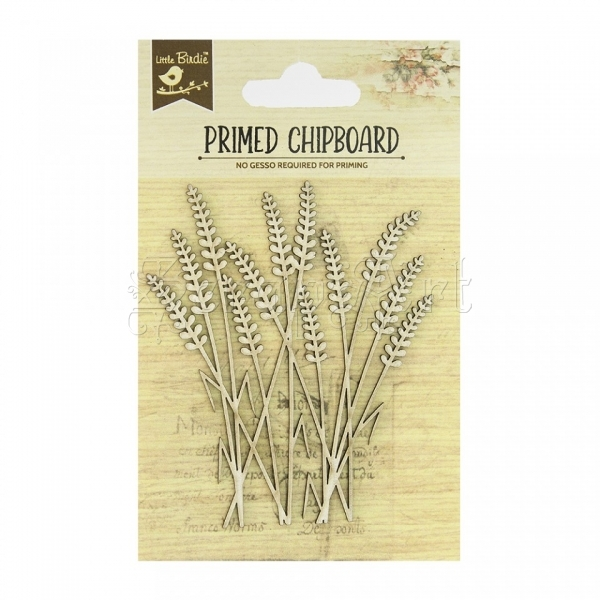 chipboard - Primed Chipboard - Grass Little Birdie