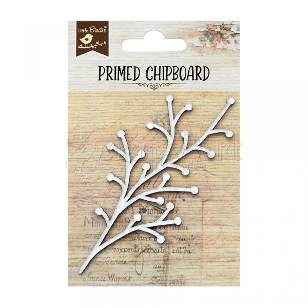 chipboard - Primed Chipboard - Wild Berry Little Birdie
