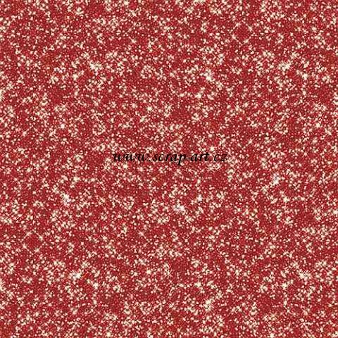 Glittered Sheet - Red - Christmas Home