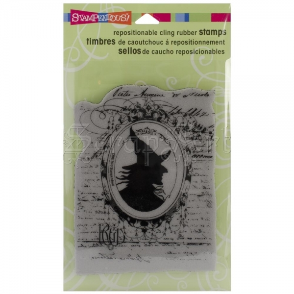 cling gumové razítko - Mirror Mirror Cling Rubber Stamps Stampendous