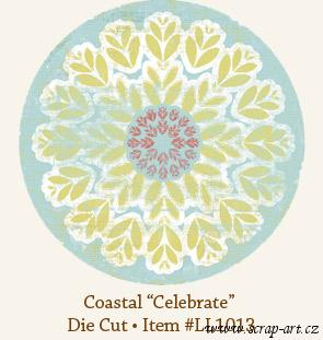Coastel - Celebrate - Die Cut - Laundry line