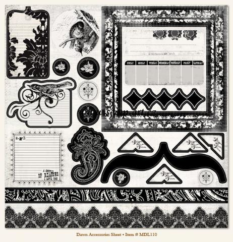 Dawn - Accessories Sheet - Meadowlark