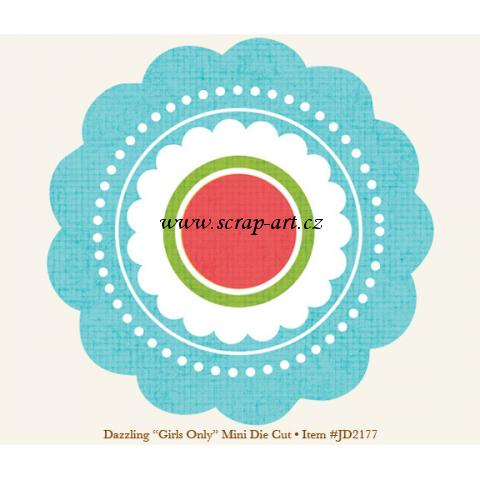 Dazzling - Girls Only - Mini Die Cut - Just Dreamy 2