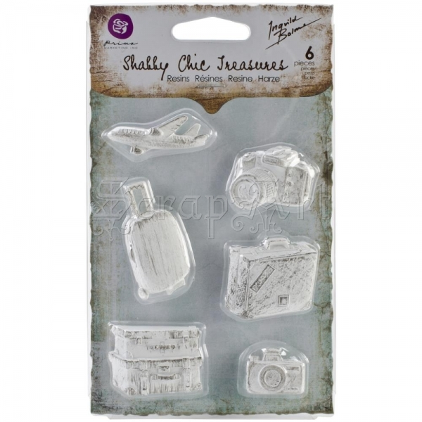 Shabby Chic Treasures Resin Explore 6 Prima Marketing Inc.