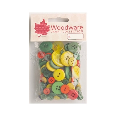 Primary Buttons - Woodware Craft Collection