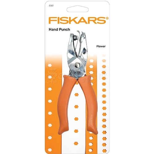 Hand Punch 1/4 Inch Large Flower Fiskars