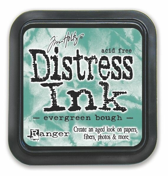 Distress Ink Pad - Evergreen Bough - Ranger - Tim Holtz