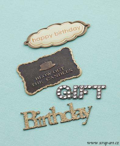 Eclectic Metal Signs - Birthday