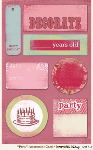 Fancy - Party - assortment Card - 29th Street Market