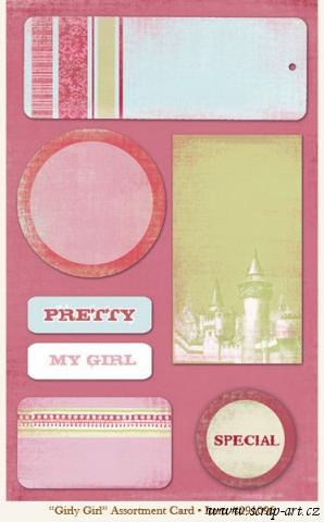Fancy - Girly Girl - Assortment Card - 29th Street Market