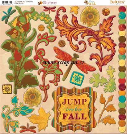 Forever Fall 12x12 Chipboard