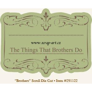 Fresh - Brothers - Scroll - Die Cut - 29th Street Market