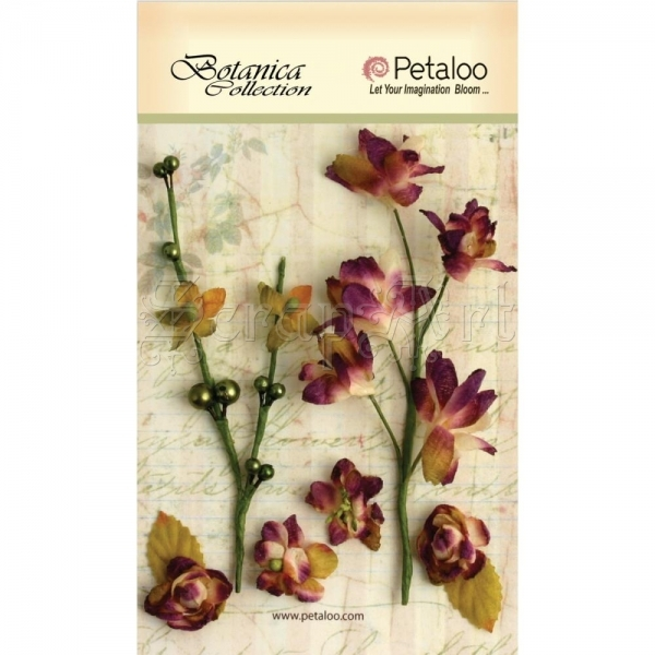 Purple - Botanica Floral Ephemera - Petaloo International