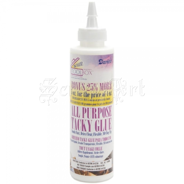 lepidlo tekuté - All-Purpose Tacky Glue Darice
