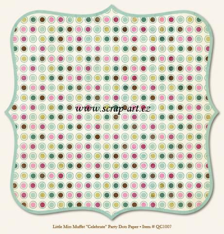 Little Miss Muffet - Celebrate - Party Dots