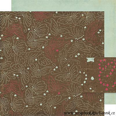 scrapbooková čtvrtka - Mingle - Mia Collection Crate Paper