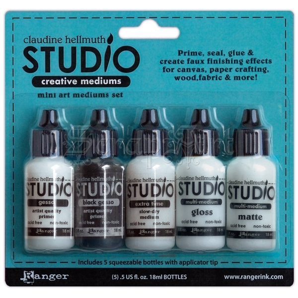 Claudine Hellmuth Studio - Art Mediums Kit - Ranger