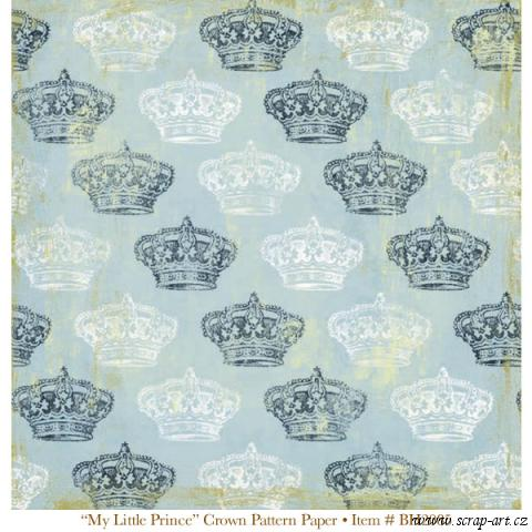 My Little Prince - Crown Pattern - Boulevard - Bohemia2