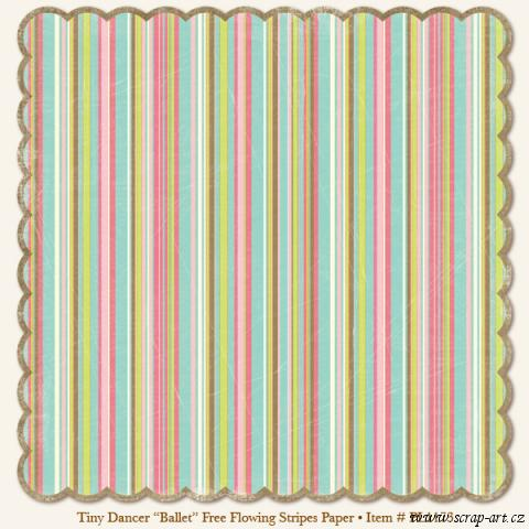 Penny Lane - Ballet - Free Flowing Stripes