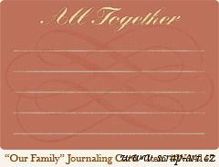 Our Family - Journaling Card - Wild Asparagus 4