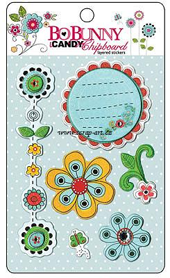 Petal Pushers iCandy Chipboard - AKCE!!!
