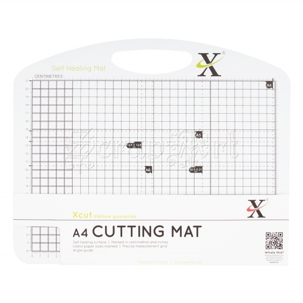 podložka na řezání - Black & White A4 Self Healing Duo Cutting Mat Xcut