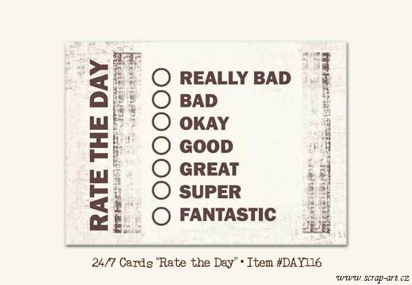 Rate the Day - Daily Dose