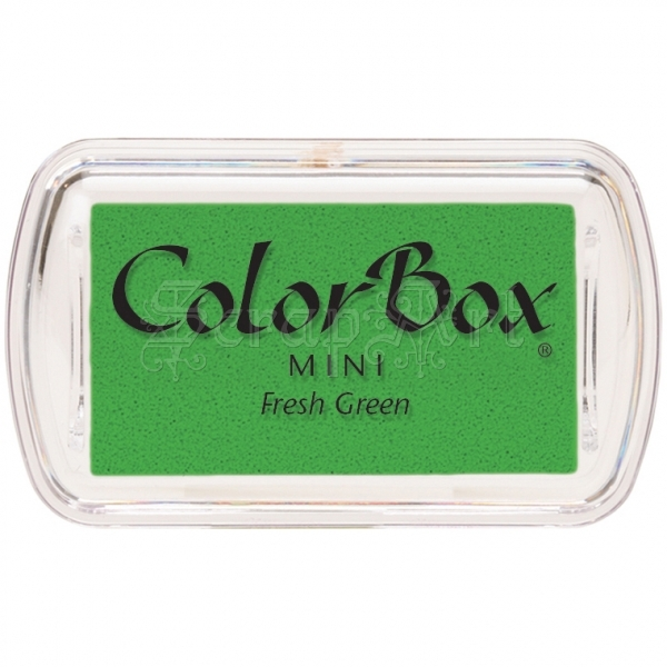 Fresh Green Pigment Mini Colorbox - Clearsnap