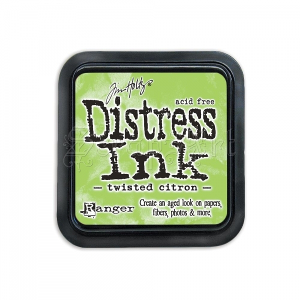 razítkovací barva - Distress Ink Pad April - May-Twisted Citron Tim Holtz Ranger