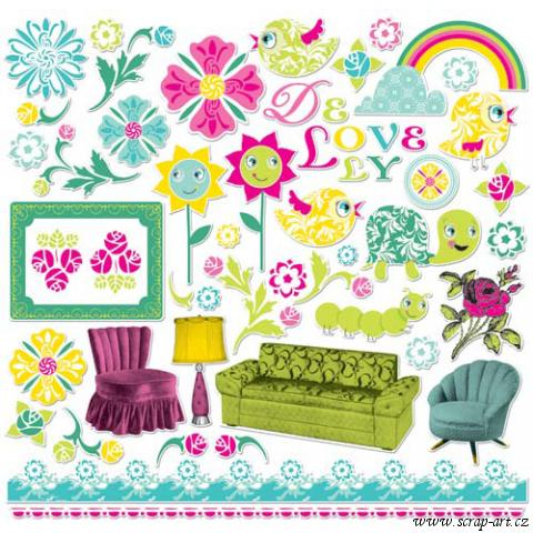 Ready set chipboard - Delovely