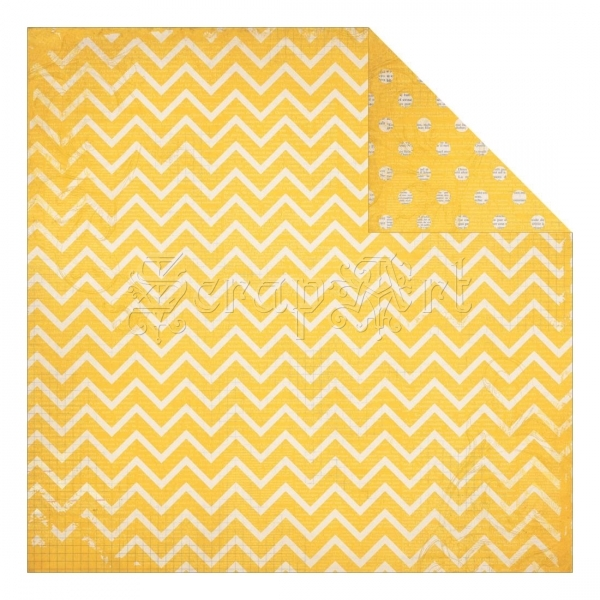 Buttercup Dot Chevron - Bo Bunny