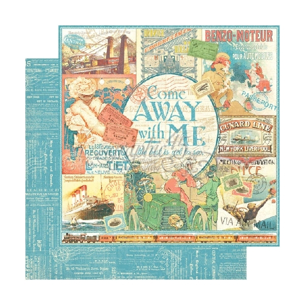 Come Away With Me - Graphic 45
