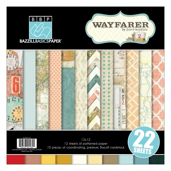 Wayfarer Collection Pack - Bazzill Basic Paper