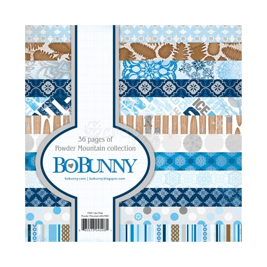Powder Mountain Paper Pad - Bo Bunny
