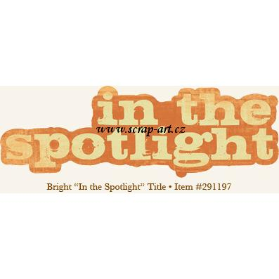 Spirit - In the Spotlight - Title - 29th street market