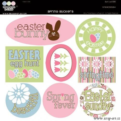 Spring stickers
