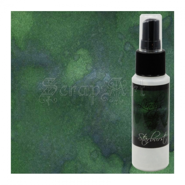 Two-toned Sprays - Starburst Frosty Forest Green - Lindy´s Stamp Gang