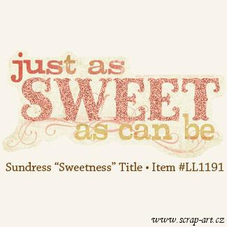 Sundress - Sweetness - Title - Laundry line