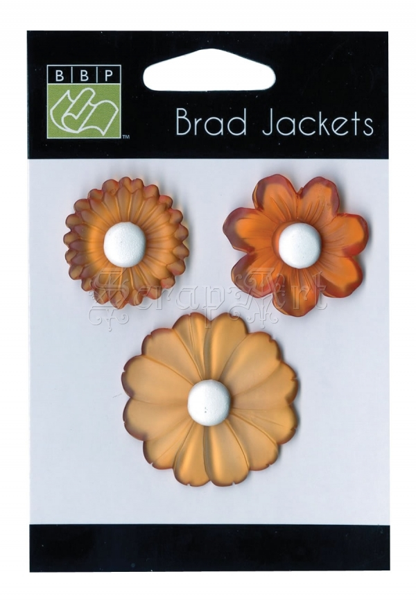 Brad Jackets Orange - Bazzill Basic Paper
