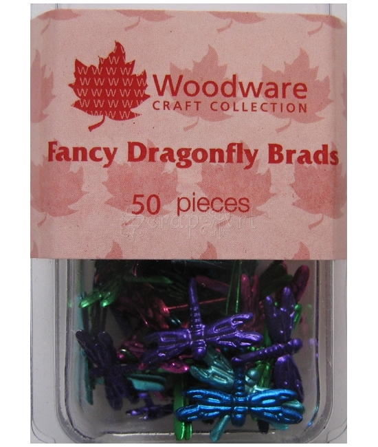 Dragonfly Bright Brads - Woodware Craft Collection