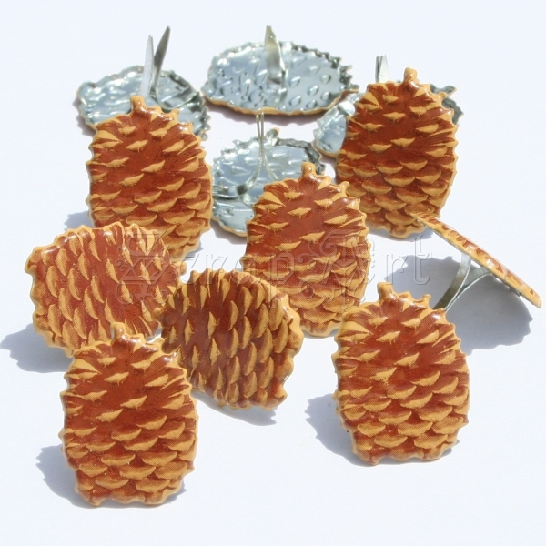 Pinecone Brads - Eyelet Outlet