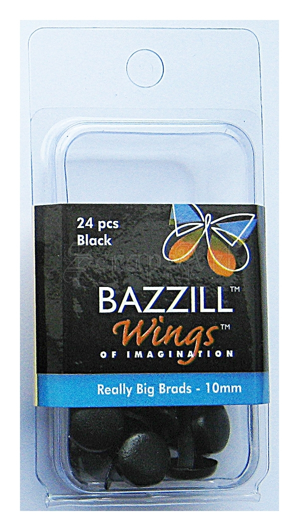 svorky - Really Big Brads Black - Bazzill Basic Paper