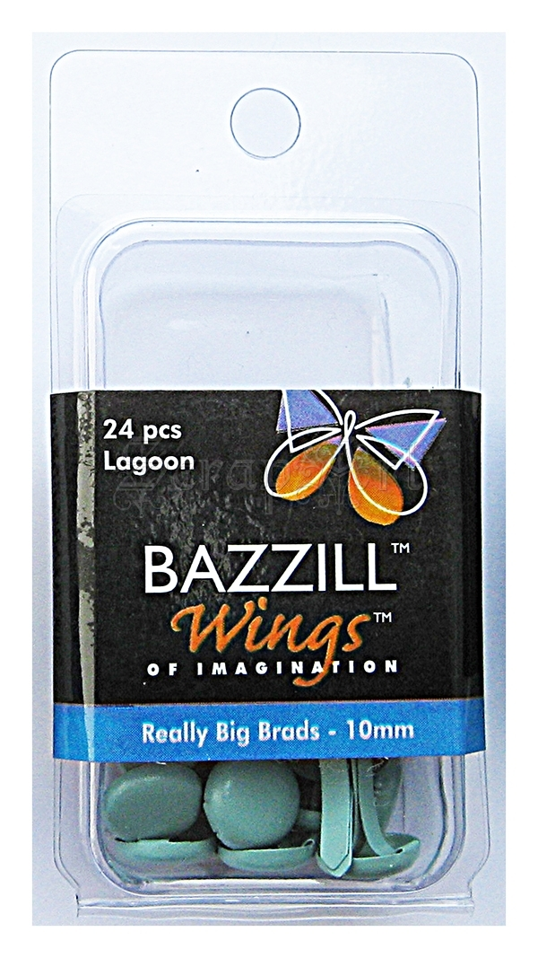 svorky - Really Big Brads Lagoon - Bazzill Basic Paper