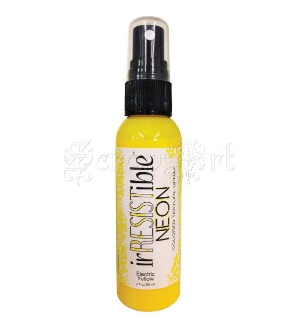 tekutá barva - irRESISTible Texture Spray 2fl oz Bottle Neon Yellow Tsukineko